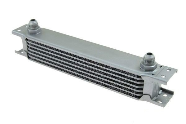 Chłodnica Oleju TurboWorks 7-rzędowa 260x50x50 AN10 Silver - GRUBYGARAGE - Sklep Tuningowy